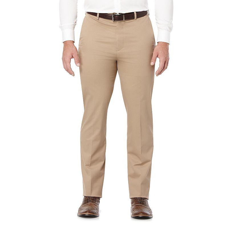Men's Savane Executive Khaki Straight-Fit Performance Pants