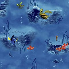 Disney / Pixar Finding Nemo Underwater Removable Wallpaper by