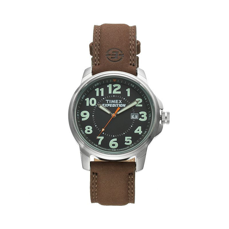 Timex Men's Expedition Field Leather Watch - T449219J