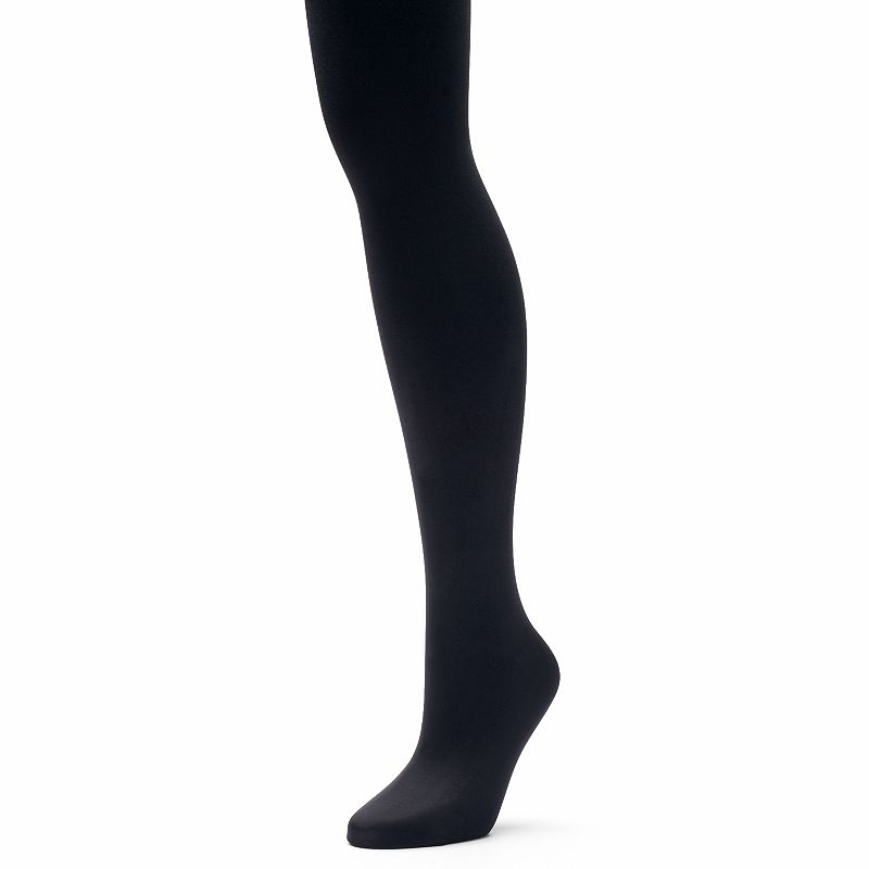 Hanes Women's X-Temp Comfort Stretch Blackout Tights
