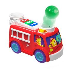Bright Starts Roll & Pop Fire Truck by
