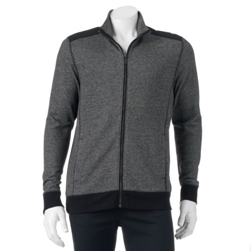 Men's Apt. 9 Marbled Knit Jacket