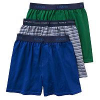 Boys Hanes Ultimate 3-Pack Knit Boxers