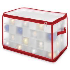 Whitmor 112-Slot Ornament Storage Chest