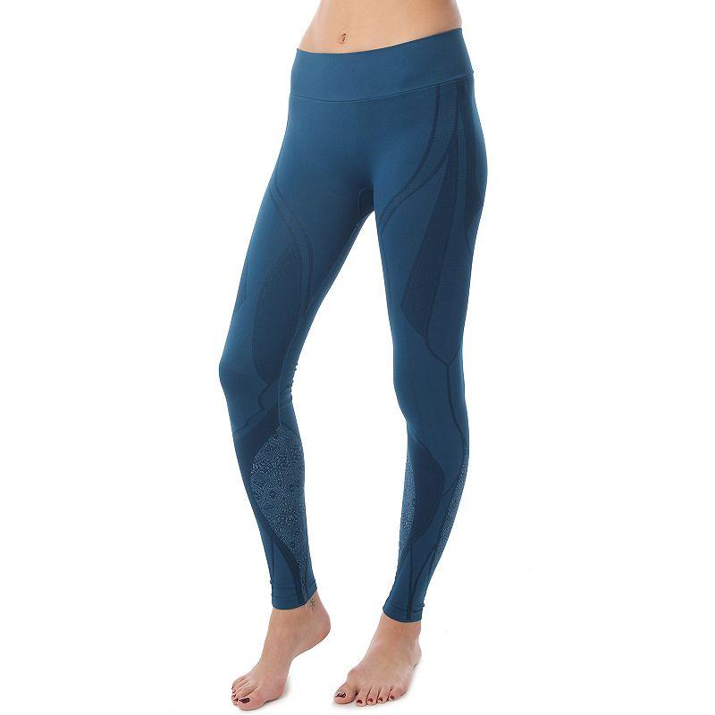 NUX Swirl Jacquard Yoga Leggings - Women's