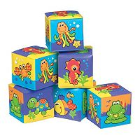 Playgro 6-pk. Animal Bath Blocks
