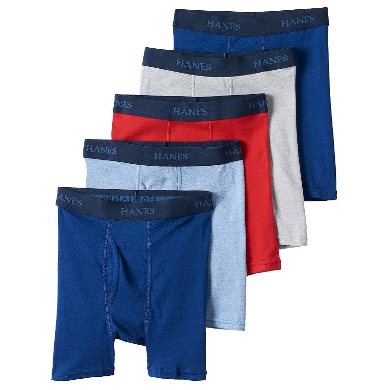 Boys Hanes Ultimate 5-pk. Boxer Briefs