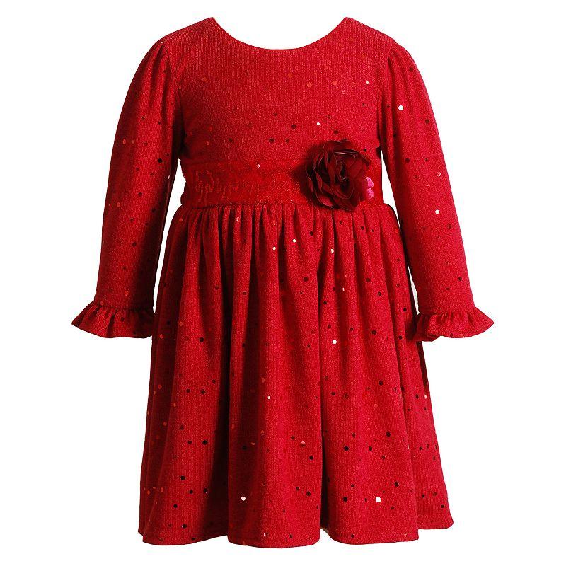 Youngland Toddler Girl Sequin Dress