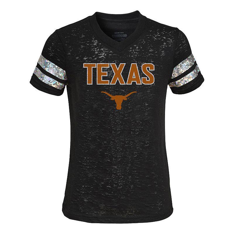 Girls 7-16 Texas Longhorns Opal Burnout Tee