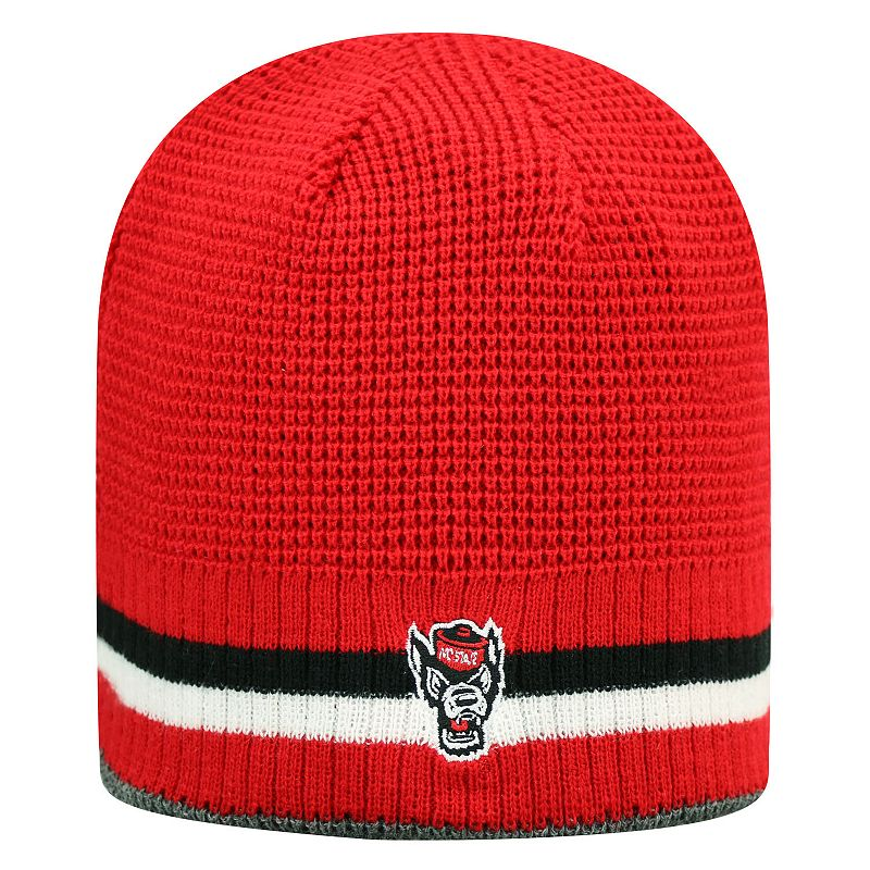 Adult Top of the World North Carolina State Wolfpack Reversible Knit Hat