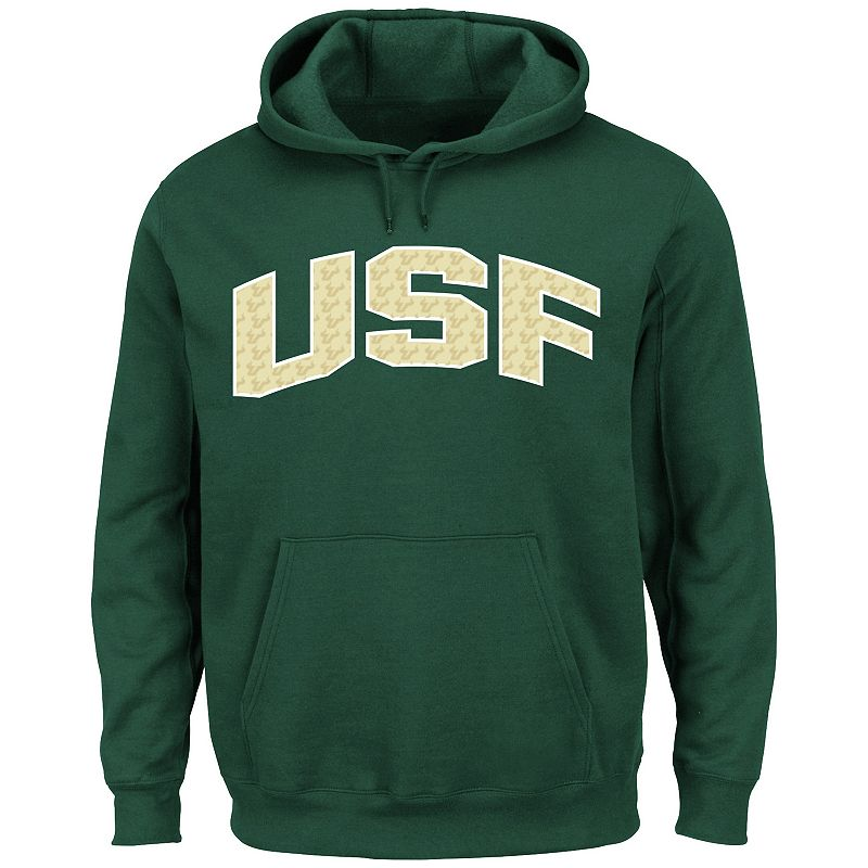 Men's Section 101 by Majestic South Florida Bulls No Penalty Hoodie