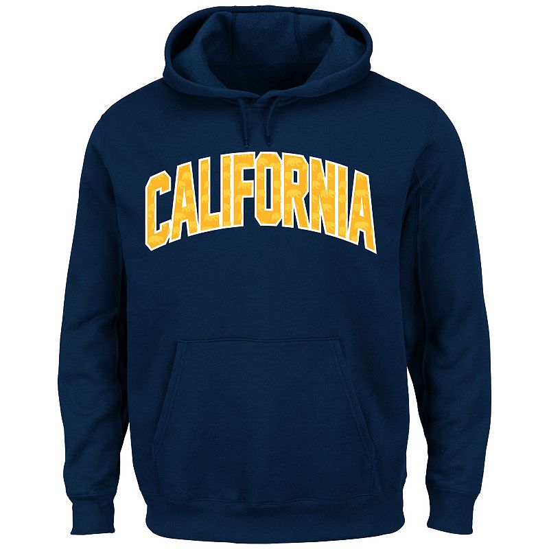 Men's Section 101 by Majestic Cal Golden Bears No Penalty Hoodie