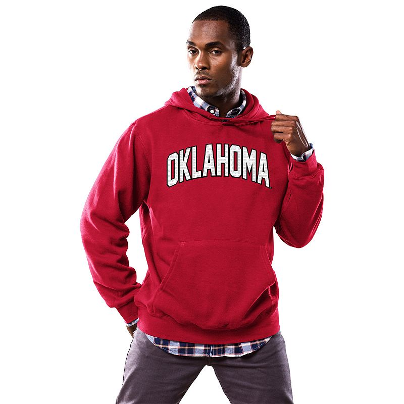 Men's Section 101 by Majestic Oklahoma Sooners No Penalty Hoodie