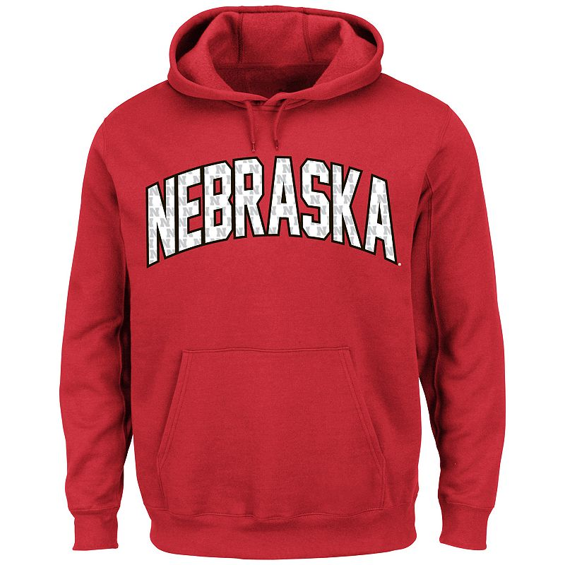 Men's Section 101 by Majestic Nebraska Cornhuskers No Penalty Hoodie