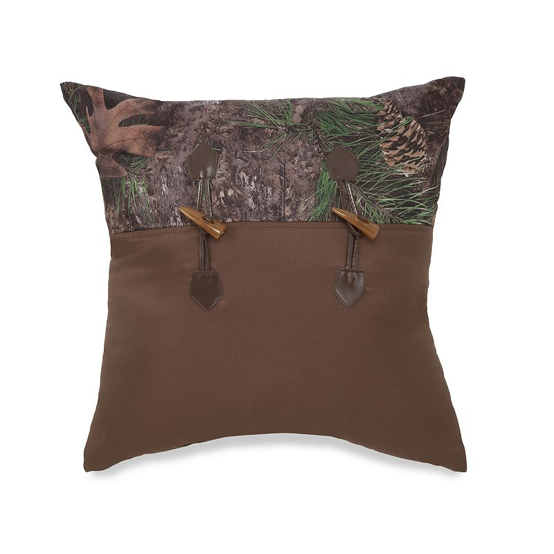 True Timber Mixed Pine Throw Pillow