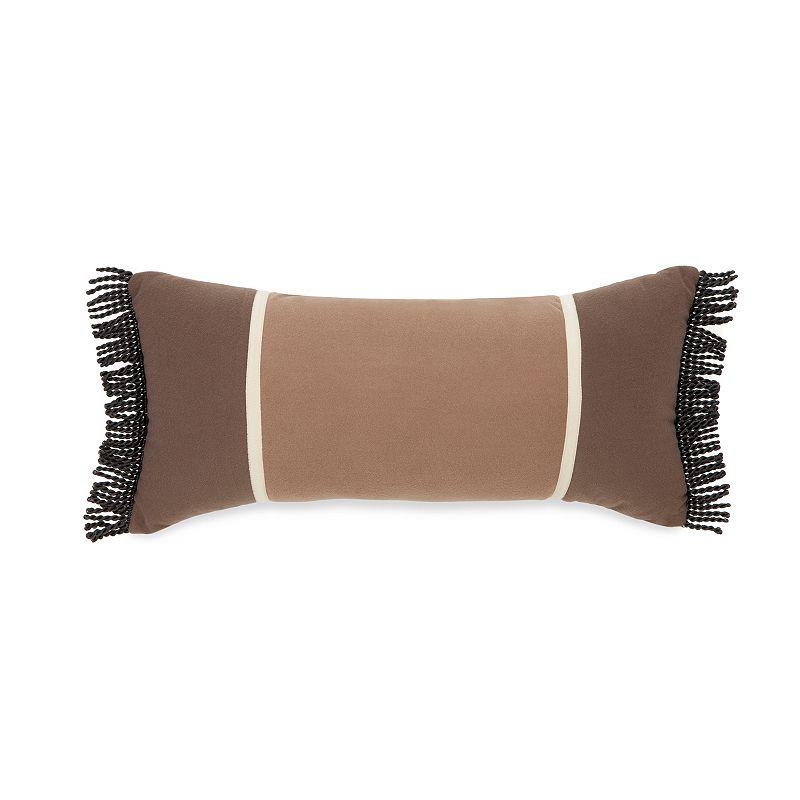 True Timber Pieced Stripe Throw Pillow
