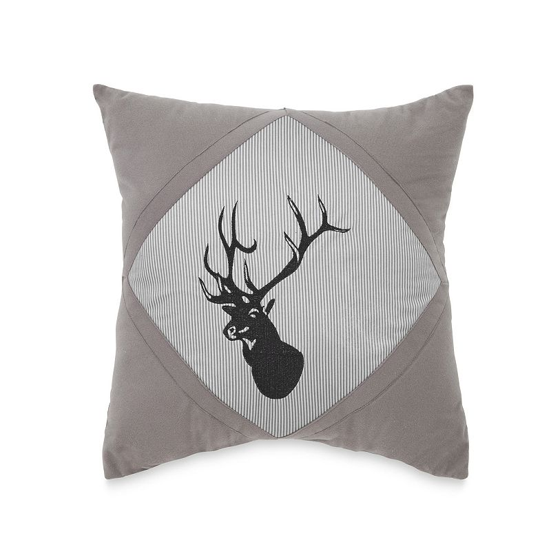 True Timber Southwest Embroidered Deer Throw Pillow