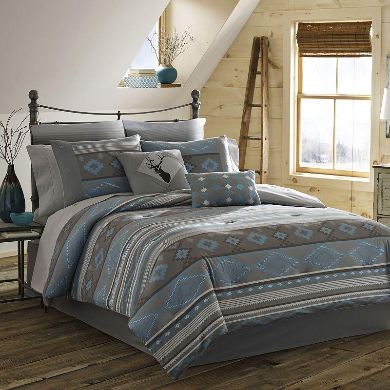 True Timber Southwest 4-pc. Reversible Comforter Set - Queen