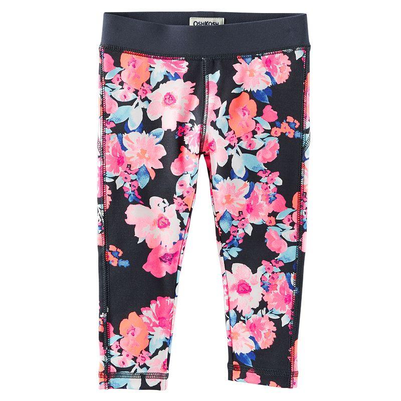 Girls 4-8 OshKosh B'gosh® Printed Capri Leggings