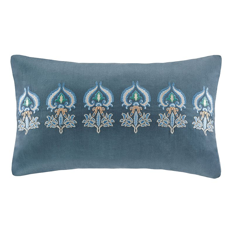 HH Belcourt Embroidered Throw Pillow