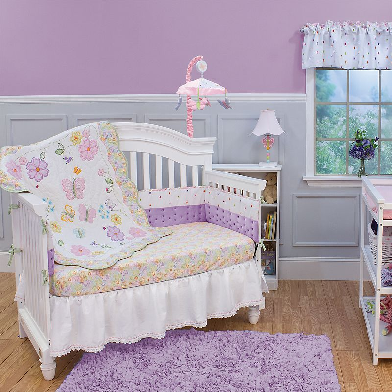 Nurture Butterfly Wings 3-pc. Crib Bedding Set