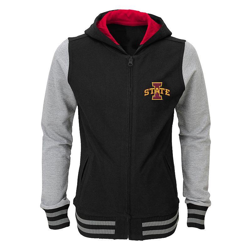 Girls 7-16 Iowa State Cyclones Varsity Hoodie Jacket