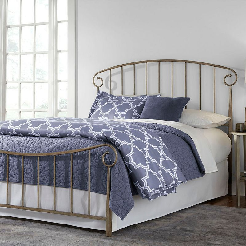 Fashion Bed Group Dalton Speckled Metallic Bed