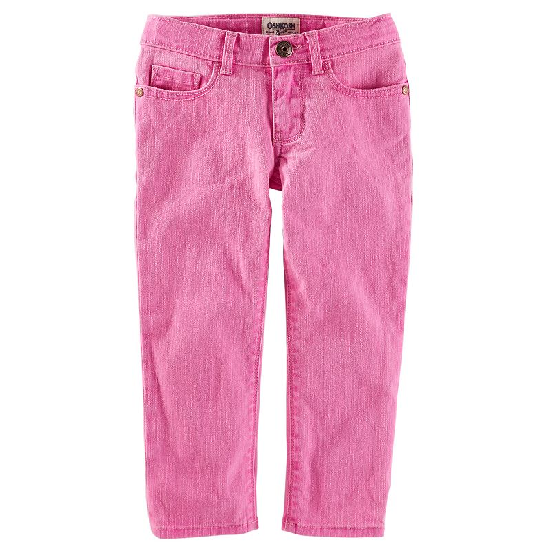 Girls 4-8 OshKosh B'gosh® Twill Skinny Cropped Pants