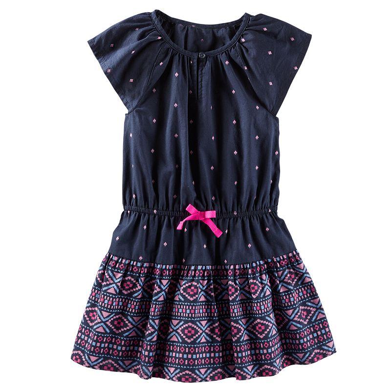 Girls 4-8 OshKosh B'gosh® Tribal Poplin Dress