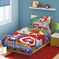 Avengers Heroes Assemble 4-pc. Toddler Bedding Set