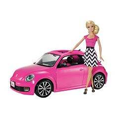 Barbie VW Beetle Car & Doll Set by