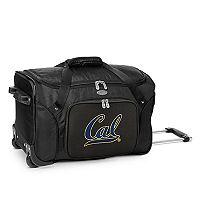 Denco Cal Golden Bears 22-Inch Wheeled Duffel Bag