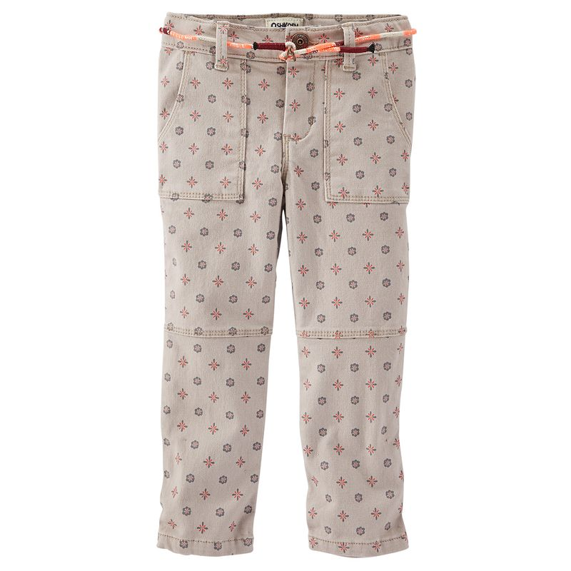 Girls 4-8 OshKosh B'gosh® Skinny Field Twill Pants