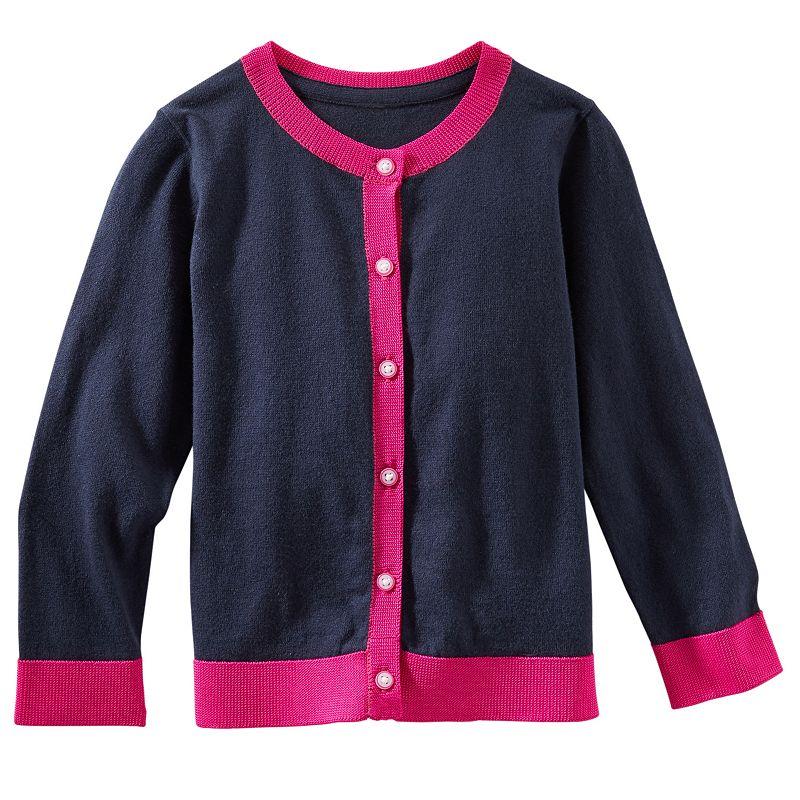 Girls 4-8 OshKosh B'gosh® Colorblock Cardigan