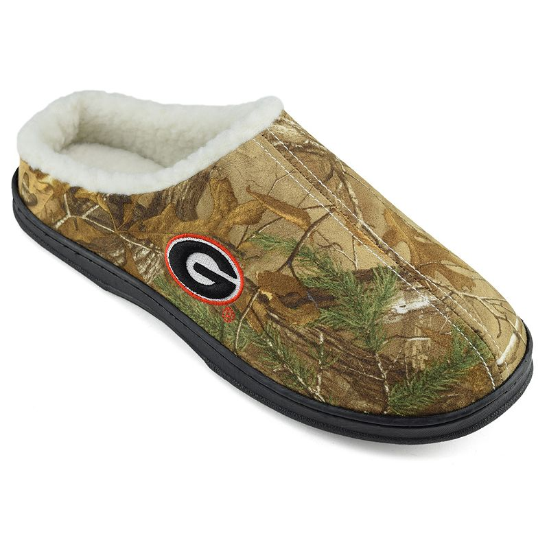 Men's Georgia Bulldogs Camouflage Clog Slippers