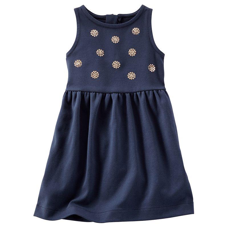 Girls 4-8 OshKosh B'gosh® Sparkle Ponte Dress