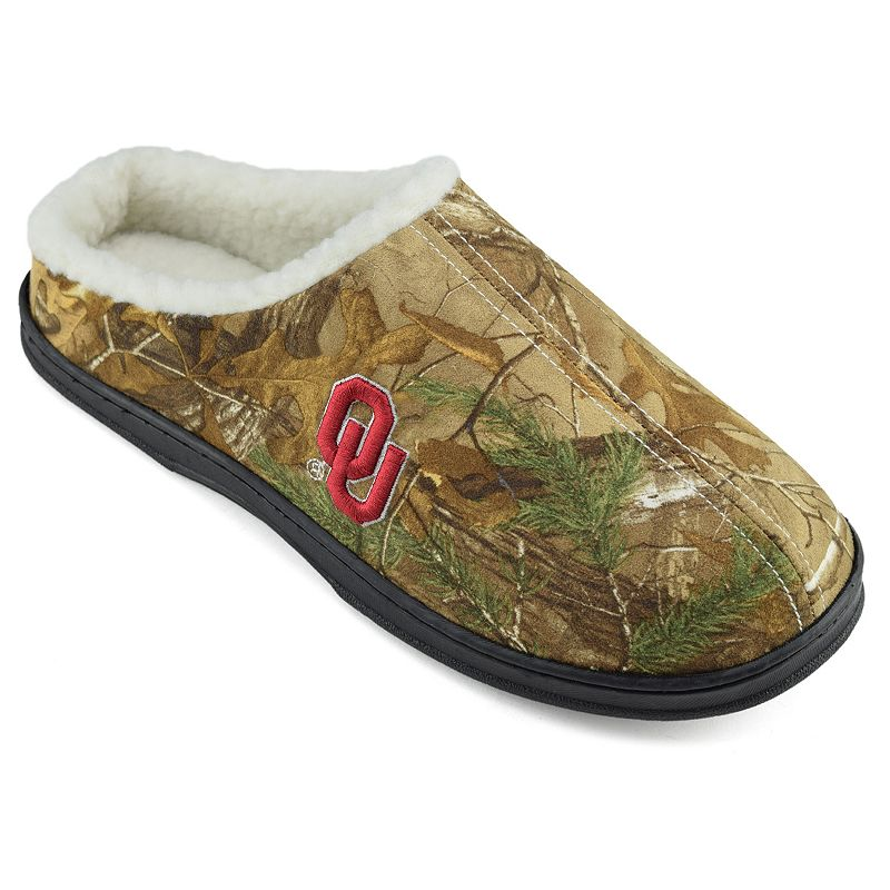 Men's Oklahoma Sooners Camouflage Clog Slippers