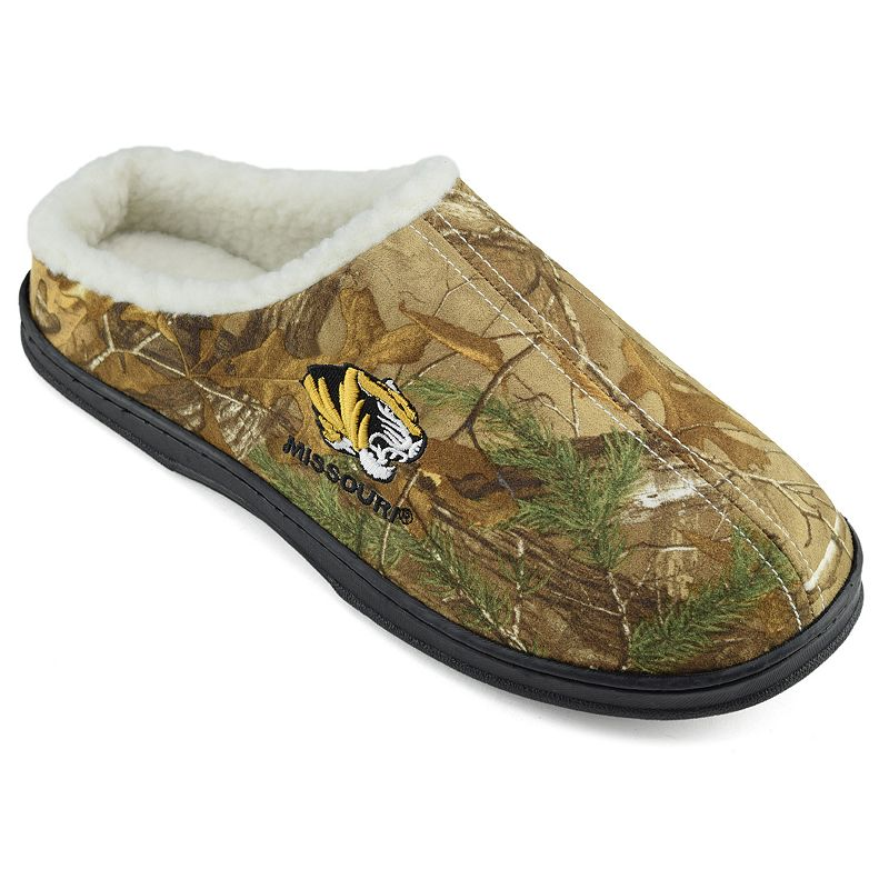 Men's Missouri Tigers Camouflage Clog Slippers