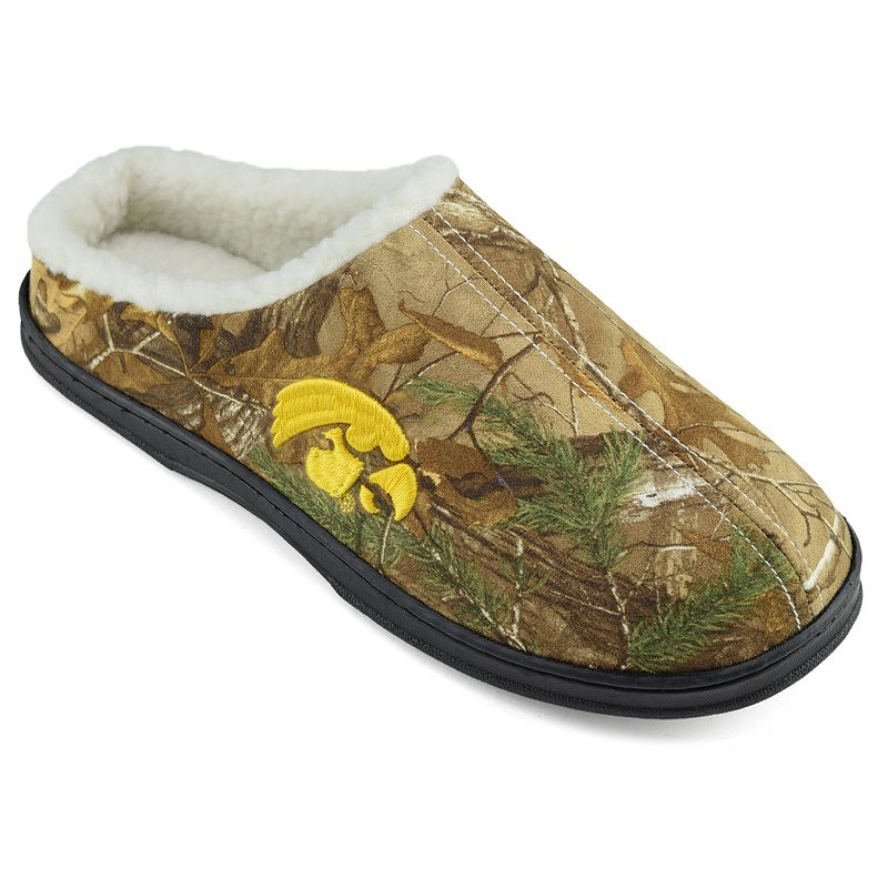 Men's Iowa Hawkeyes Camouflage Clog Slippers