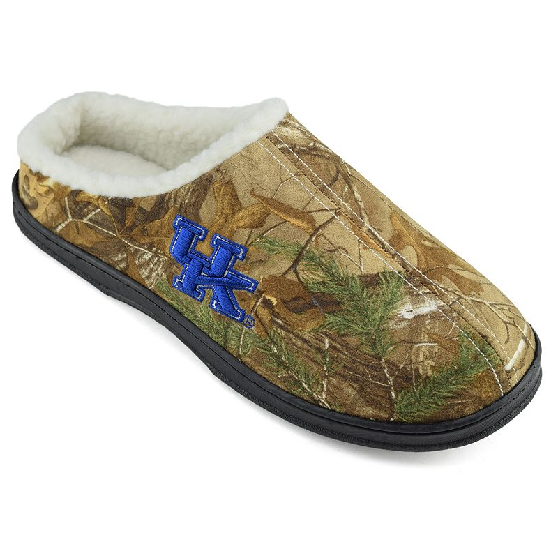 Men's Kentucky Wildcats Camouflage Clog Slippers