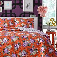 Teen Vogue Pop Vintage Reversible Quilt Set