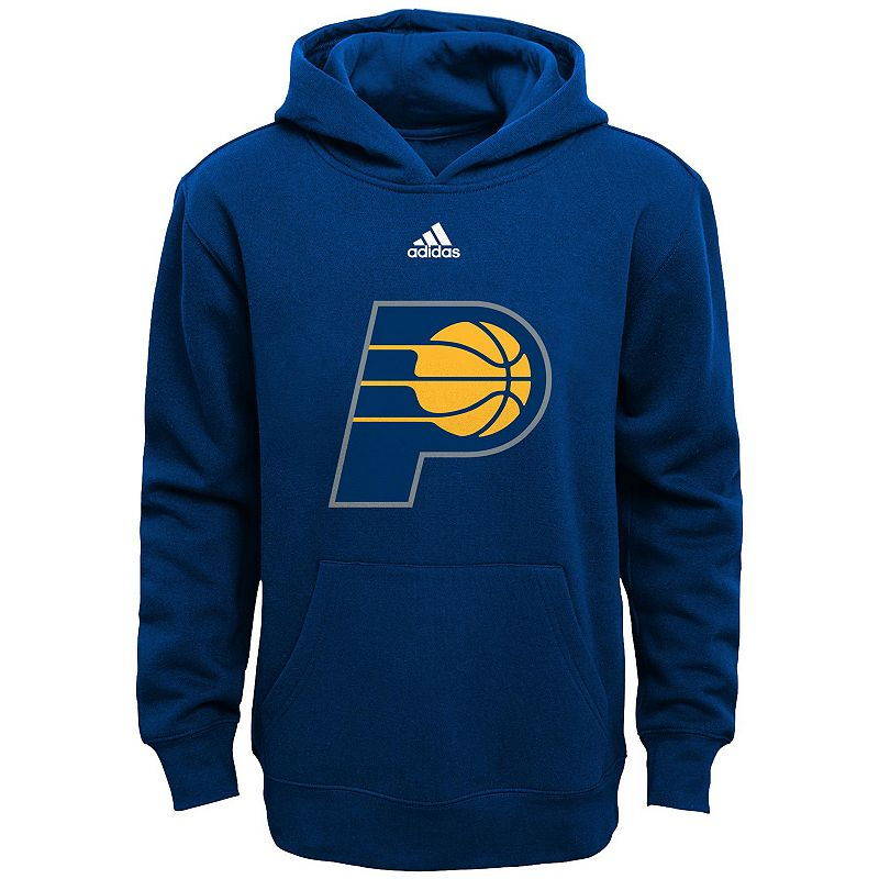Boys 8-20 adidas Indiana Pacers Prime Pullover Fleece Hoodie