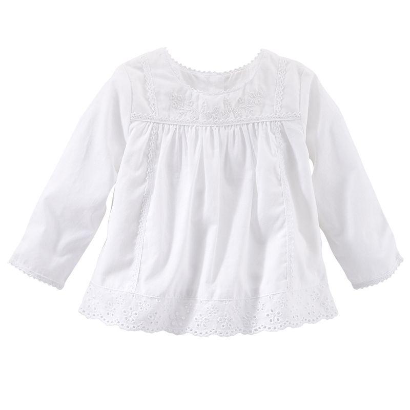 Baby Girl OshKosh B'gosh® Floral Eyelet Woven Top