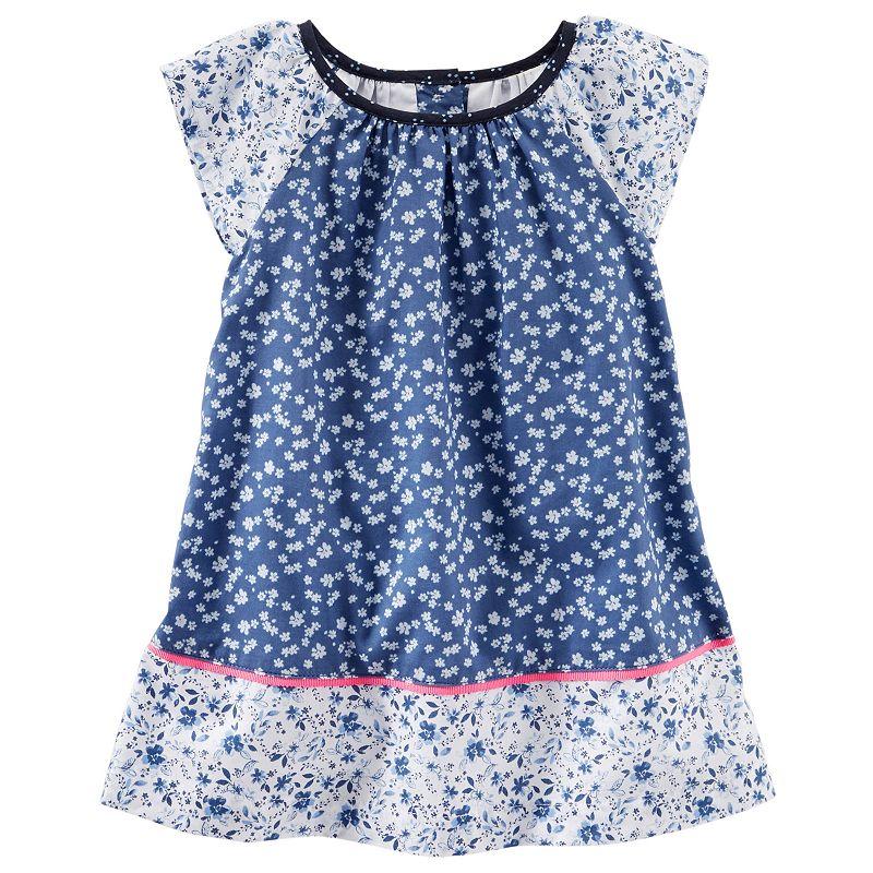 Baby Girl OshKosh B'gosh® Floral Woven Dress