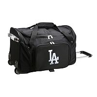 Denco Los Angeles Dodgers 22-Inch Wheeled Duffel Bag