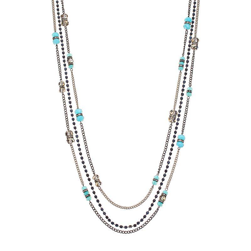 Simply Vera Vera Wang Multistrand Long Necklace