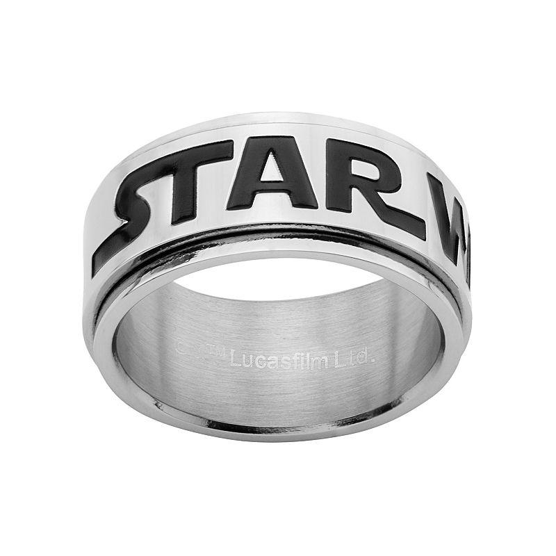 Star Wars Stainless Steel Spinner Band - Men