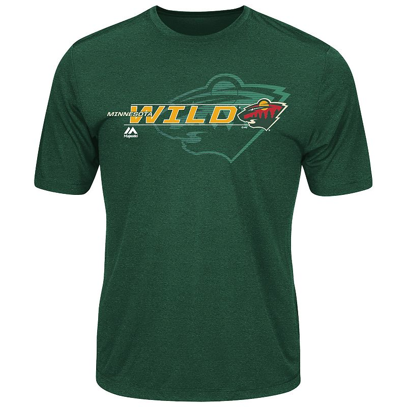 Men's Majestic Minnesota Wild Let Loose Tee