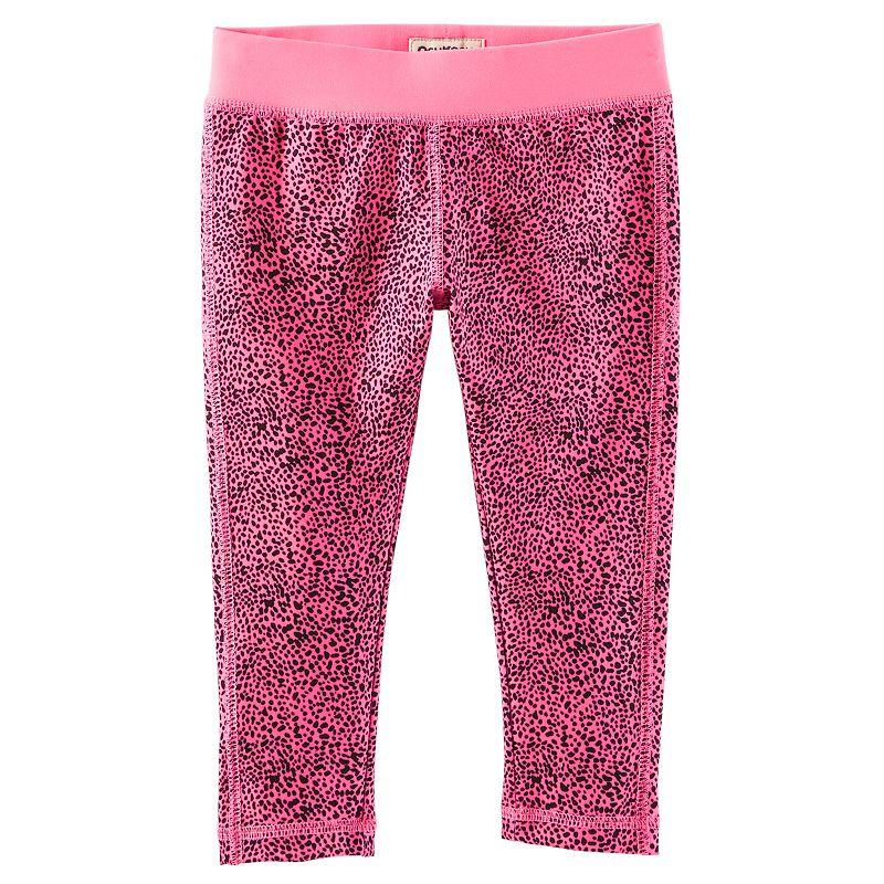 Toddler Girl OshKosh B'gosh® Print Crop Yoga Pants