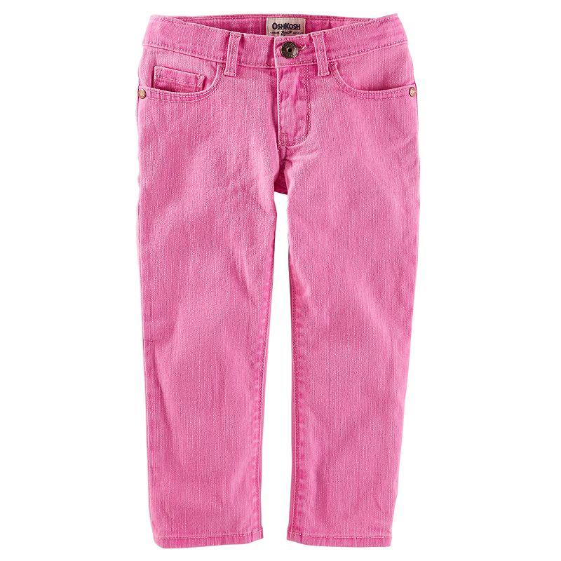 Toddler Girl OshKosh B'gosh® Twill Skinny Cropped Pants